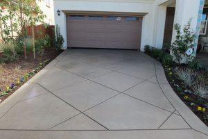 drive way concrete - keller concrete contractor